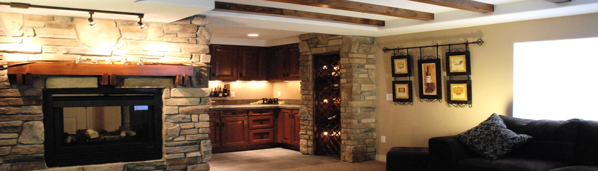 Make your basement an extension of your home.